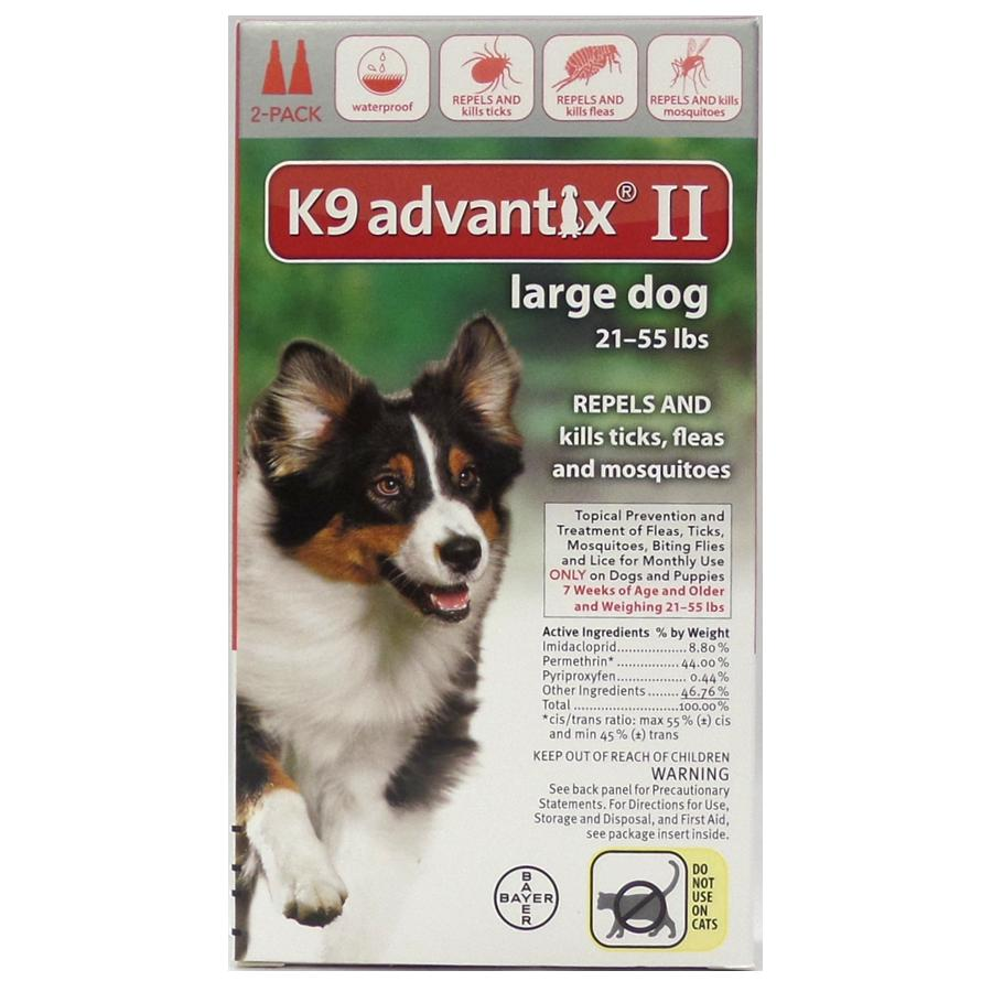 Advantix II 2 PK - Red