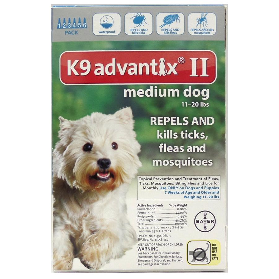 Advantix II 6 PK - Teal
