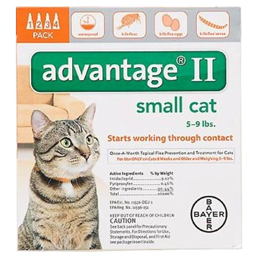 Advantage II 4PK  - Orange