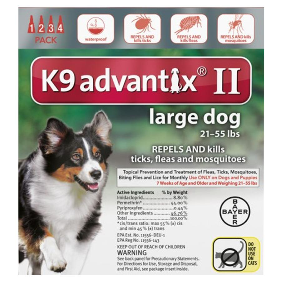 Advantix II 4PK - Red