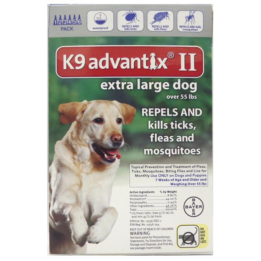 Advantix II 6 PK - Blue