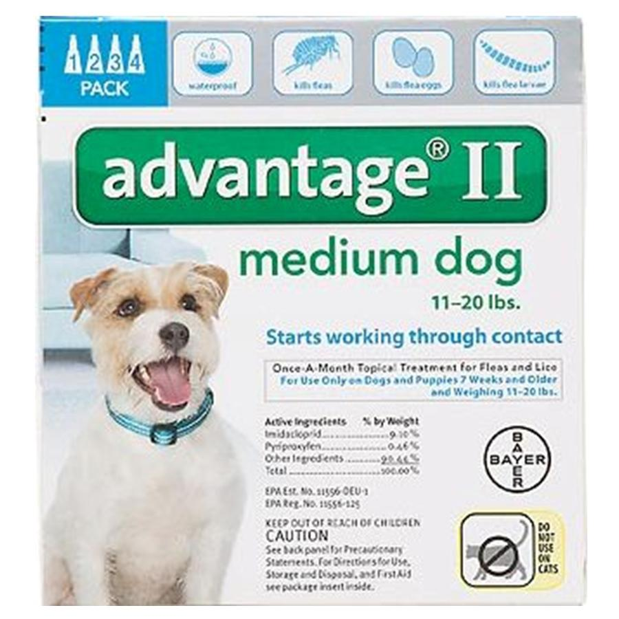 Advantage II 4PK - Teal