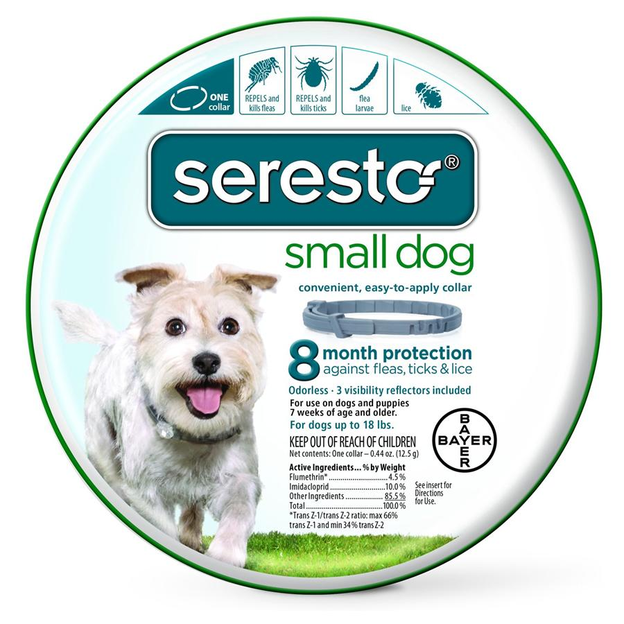 Seresto Collar - Dogs Under 18 Lbs.