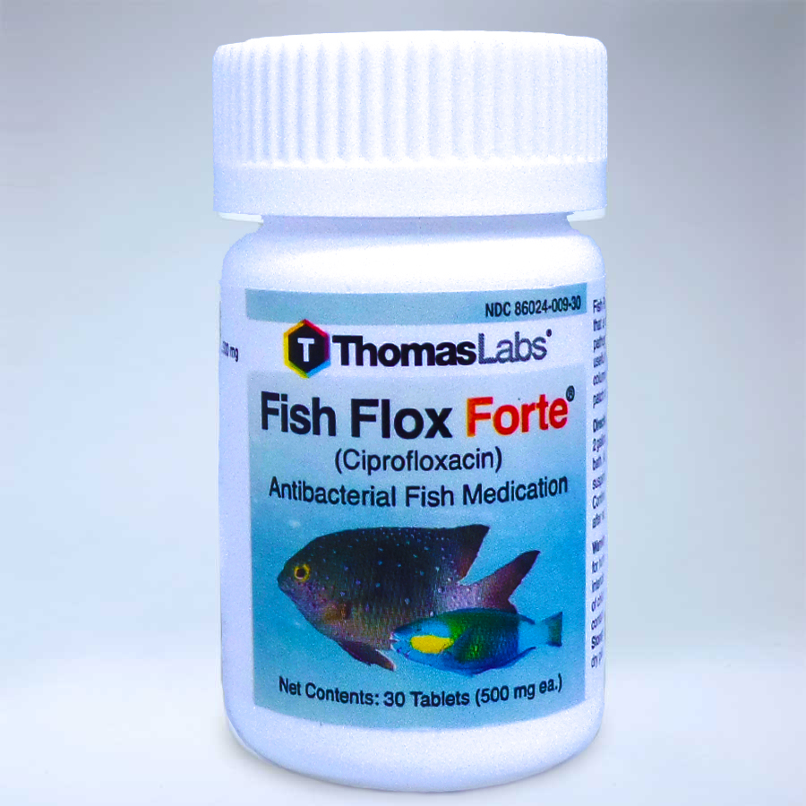 Fish flox forte 500mg 30 count general distributing for Fish flox forte